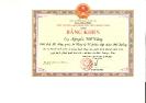 Chủ tịch UBND tỉnh Quảng Nam tặng Bằng khen cho Chủ tịch HĐQT Tập Đoàn Đất Quảng năm 2017